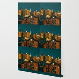 New York City Apartments (Color) Wallpaper