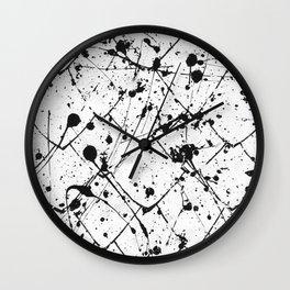 Nikita - white Wall Clock