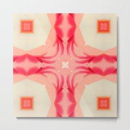 Pink Yams Metal Print