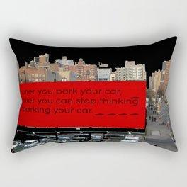 Soon-Park-Car Rectangular Pillow
