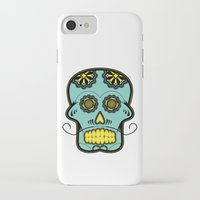 calavera iPhone & iPod Cases featuring Calavera  by Cody Wilkes-Booth