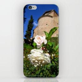 Roses at Villa d'Este iPhone Skin