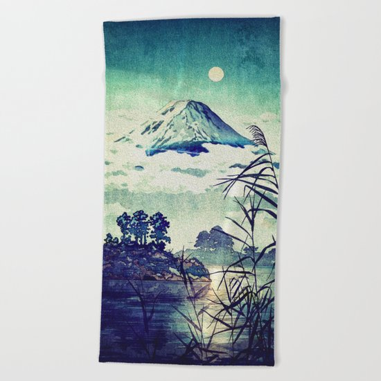 The Midnight Waking Beach Towel