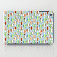 hot air balloons iPad Cases featuring Hot Air Balloons by Jessica Draws