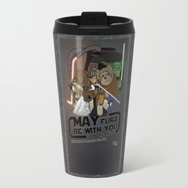 Frod0 the Sheltie: May the Furs Be With You Travel Mug