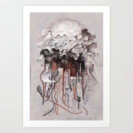 The Unfurling Dreamer Art Print