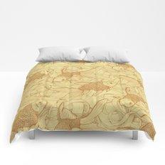Vintage Goldfishes II Comforters