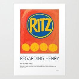 Regarding Henry (1991) Art Print