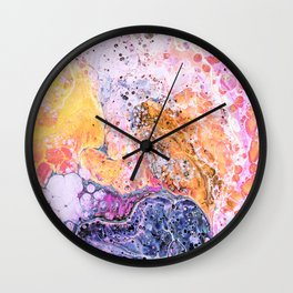 Resist #abstract #digitalart Wall Clock