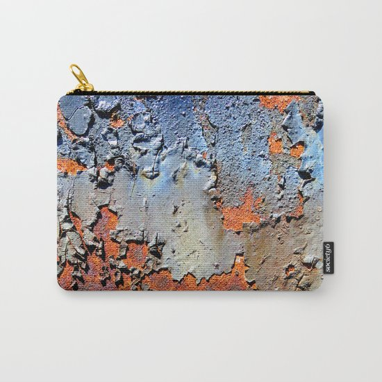 Rusted and Peeling 3 Carry-All Pouch