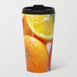 Fresh Orange for the Kitchen Travel Mug