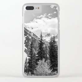 Going up Clear iPhone Case