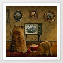 Goldilocks' Revenge Part One Art Print