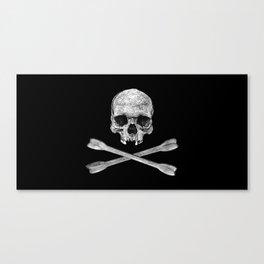 Jolly Roger Banner Canvas Print