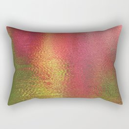 Abstract Moment in Pink Rectangular Pillow