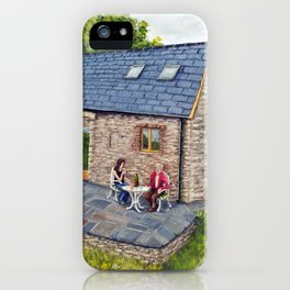Ferns Barn, Herefordshire iPhone Case