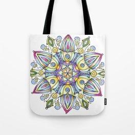 mandala Winter Tote Bag