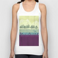 wildlife Tank Tops featuring Wildlife by Kakel