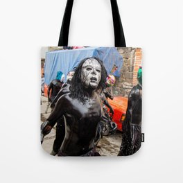 Painted young II Tote Bag