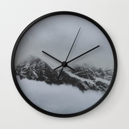 peak through the clouds Wall Clock