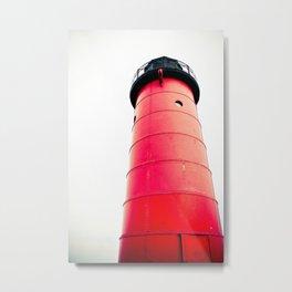 Milwaukee Pierhead Light Metal Print