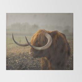 Bison Throw Blanket