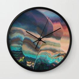 Northern light passing thru Wall Clock
