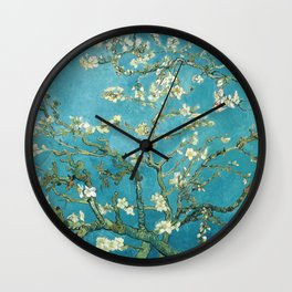 Almond Blossoms by Vincent van Gogh Wall Clock