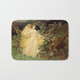 """Sir William Blake Richmond """"Venus and Anchises"""" Bath Mat"""