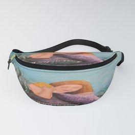 Mermaid Under The Sea Fanny Pack