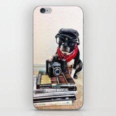 The Dog Photographer iPhone & iPod Skin
