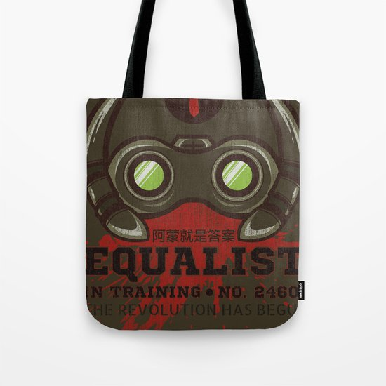 Equalist in Training Tote Bag