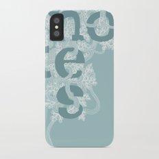 Notes iPhone X Slim Case