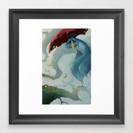 Bird Blues Framed Art Print