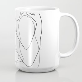 Lovers - Minimal Line Drawing Coffee Mug