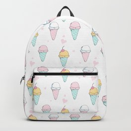 Cutest Ice cream Pattern Illustration ever Backpack
