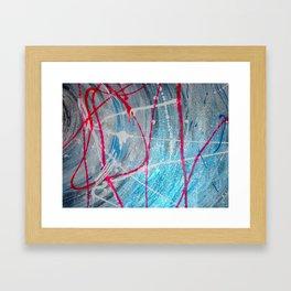 Shock Blue #2 Framed Art Print