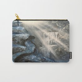 Spray Paint Waterfall Road to the Cross Carry-All Pouch