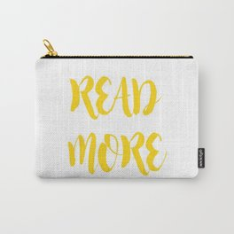 READ MORE.  Carry-All Pouch