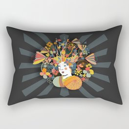 Miss Kim Ono Rectangular Pillow