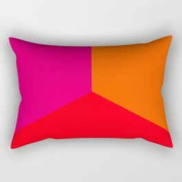 Thirds of Summer II Rectangular Pillow