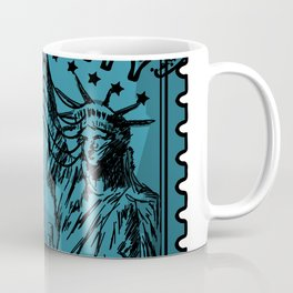 New York City Stamp Coffee Mug