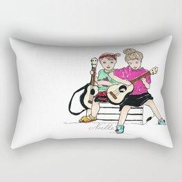 Strummin' Sisters Rectangular Pillow