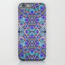 Persian kaleidoscopic Mosaic G509 iPhone Case