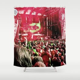 Our rock festival. The biggest of Latin America. Shower Curtain