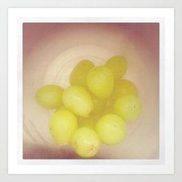 Grapes:. Art Print