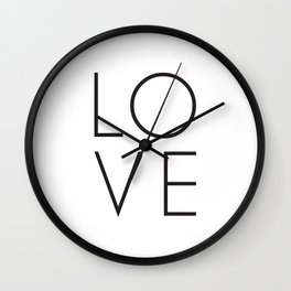 Love is in the air and your home Wall Clock