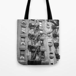 Smoking Window Tote Bag