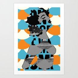 Mermaid no.1 Art Print