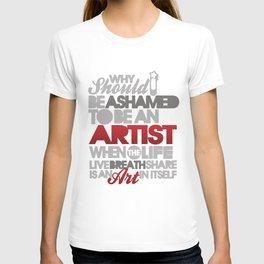 I am Artist (Black) T-shirt